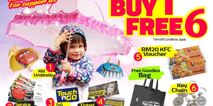 Buy 1 Free 6